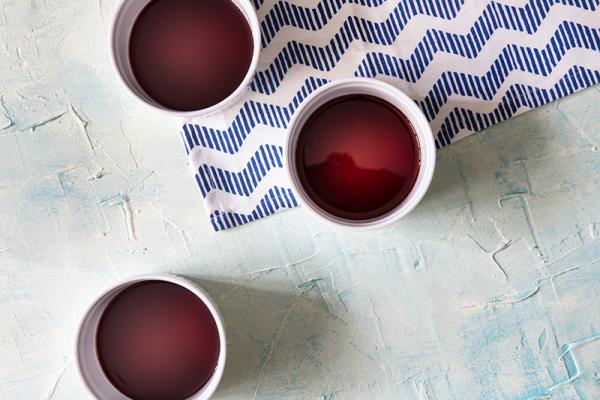 creme caramel with wine souce receipe for passover cafe-veyafe.com