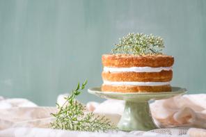 לאכול: עוגת ריקוטה ושקדים חגיגית