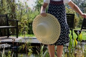 DIY: כובע קש בעיצוב משלך