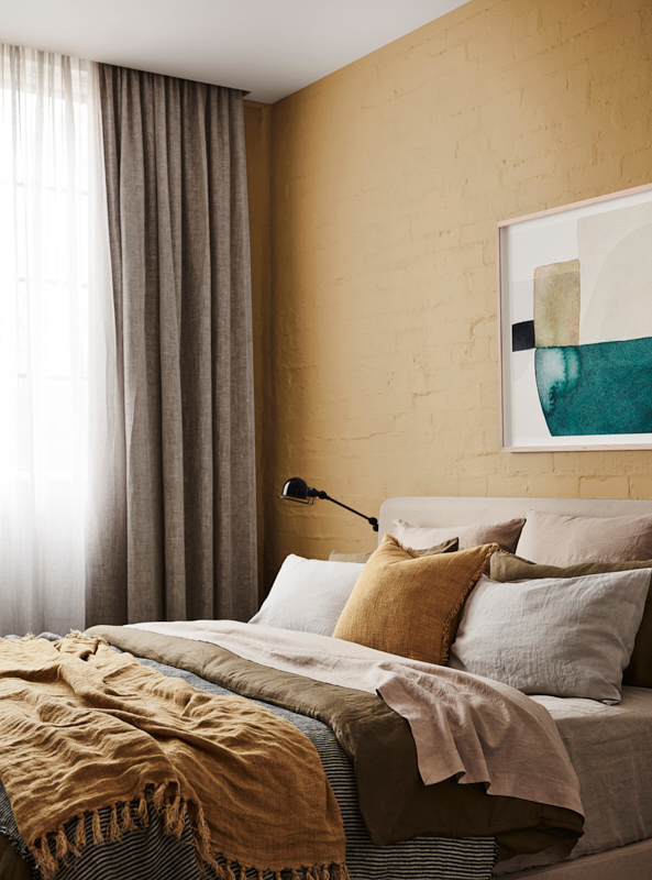 golden yellow in interior design by dulux australia colors trend 2019