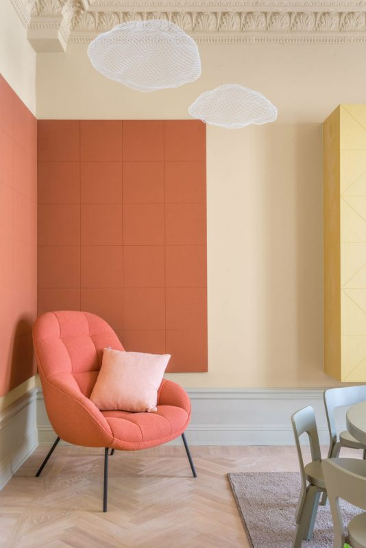 light and pastel interior by note design studio